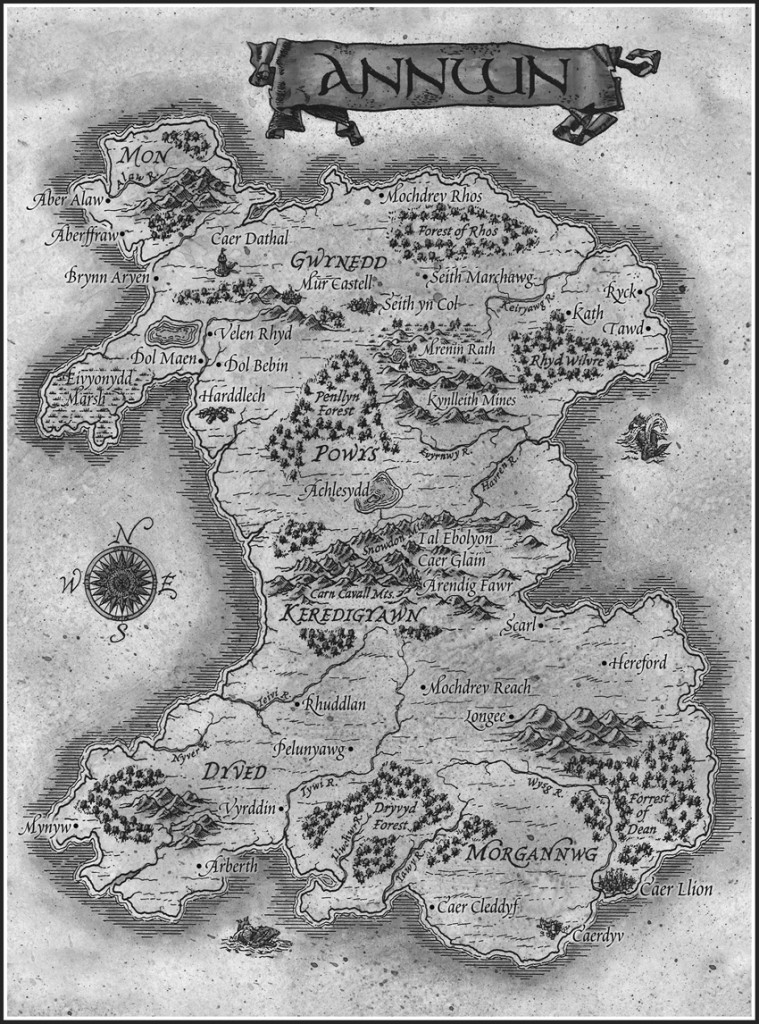 Annwn Map by Russ Charpentier